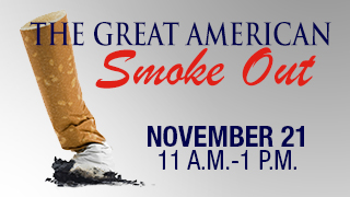 Great American Smoke Out Banner