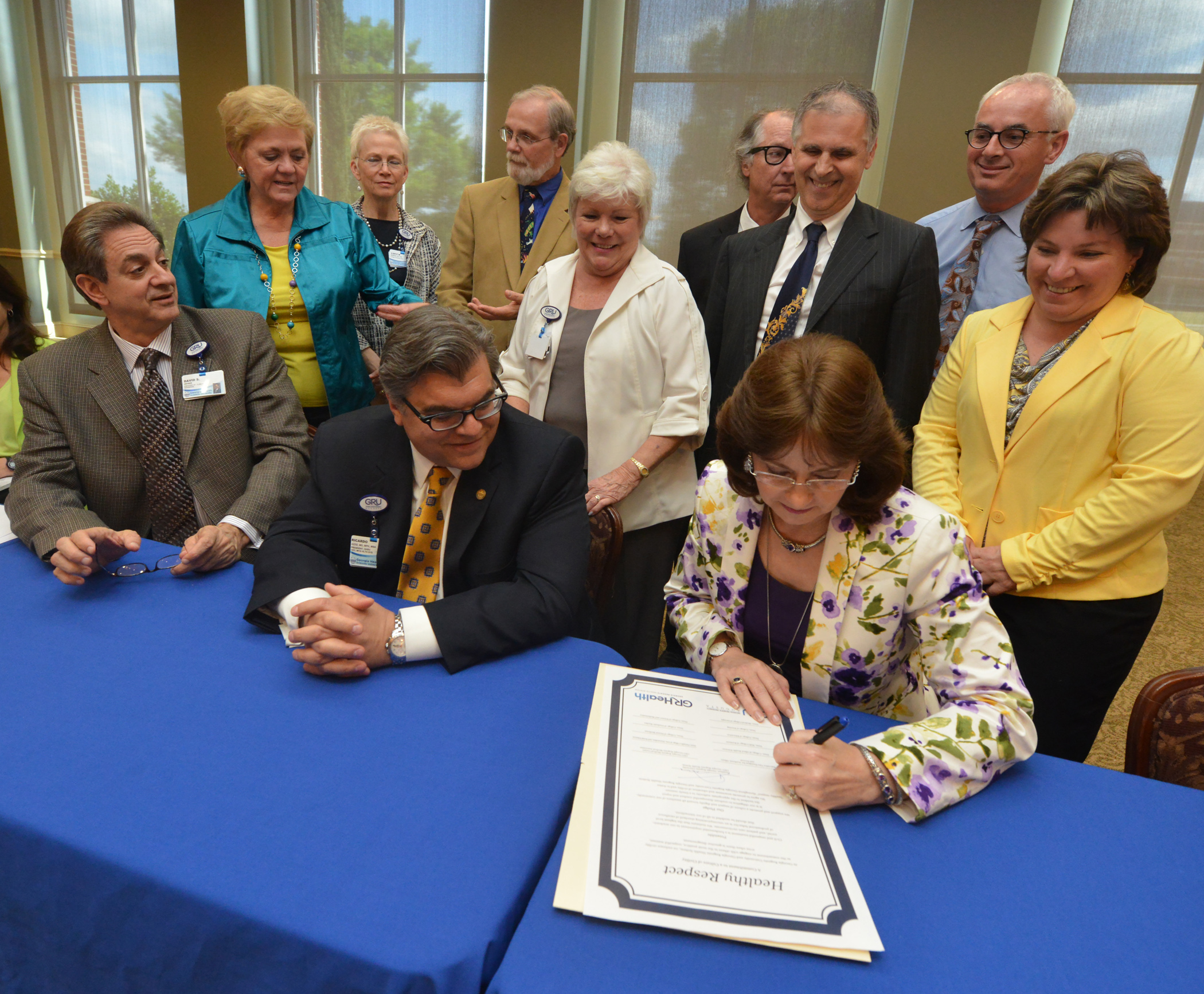 charter signing