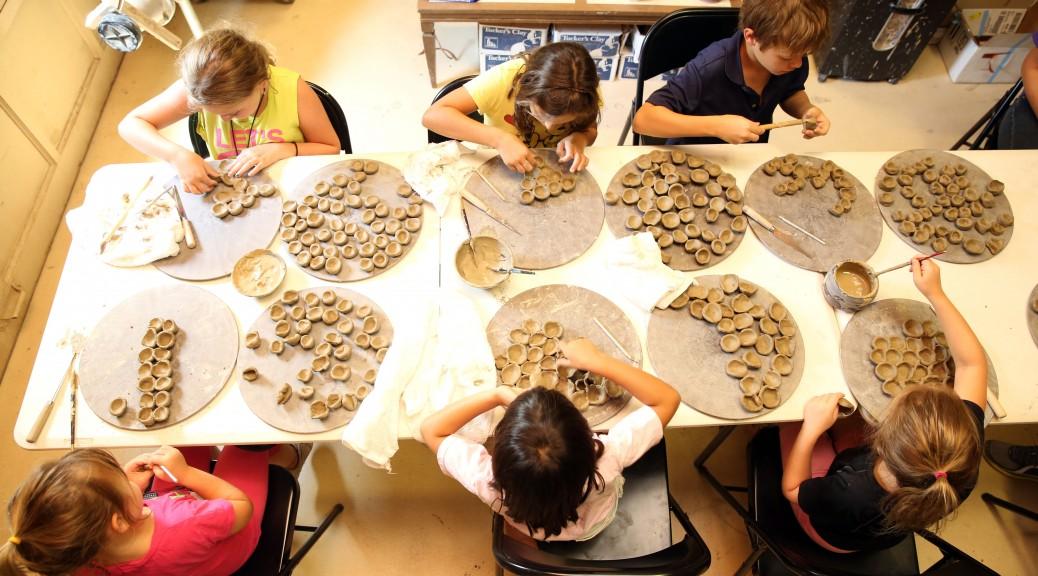 Art + Science + Kids = Living Clay
