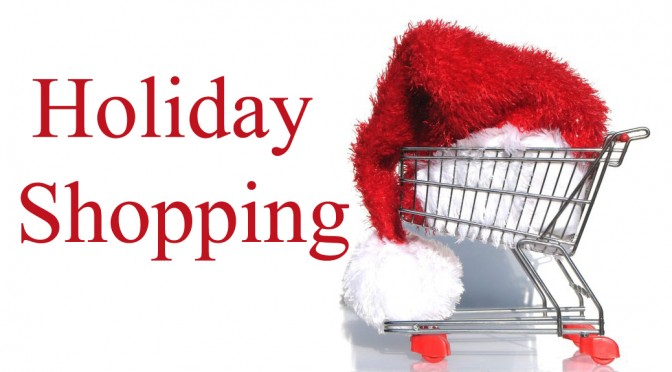 christmas shopping santa hat. GREport
