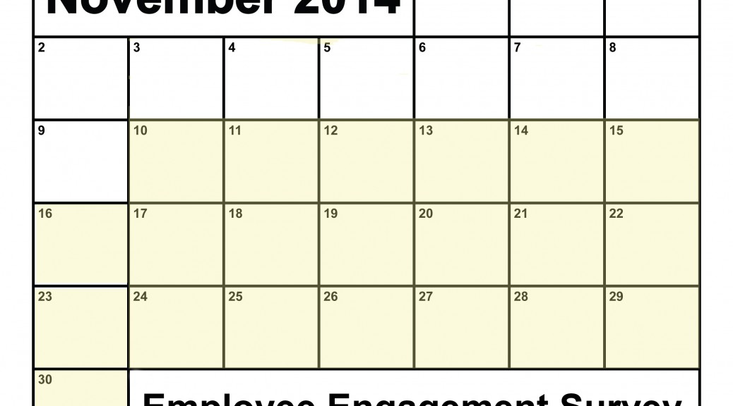 Employee Engagement Survey November