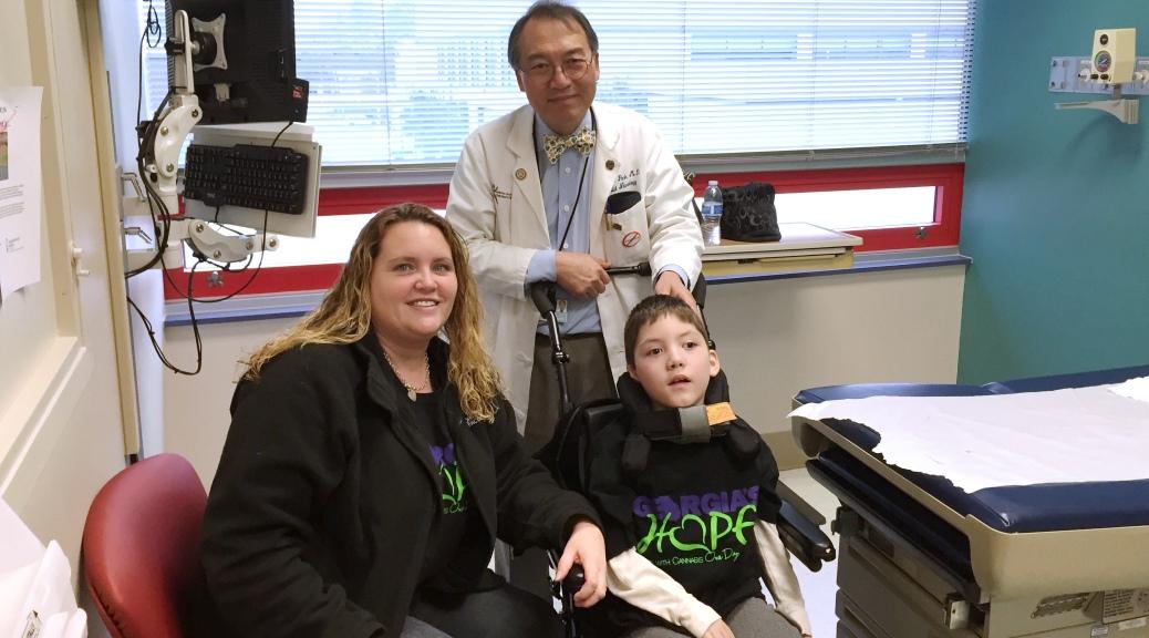 Valerie Weaver. Dr. Yong Park. Preston Weaver