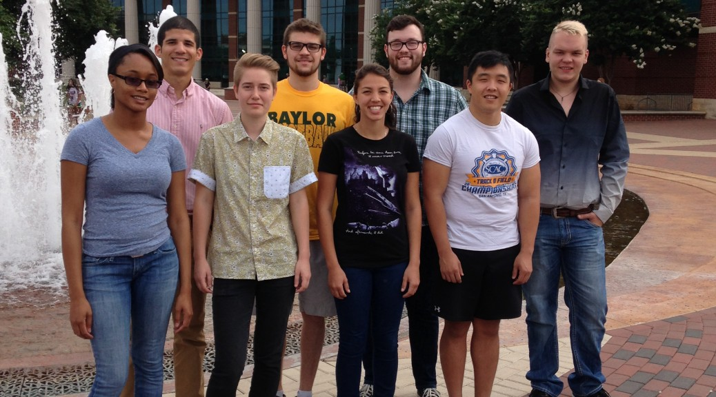 REU 2015 1st day photo