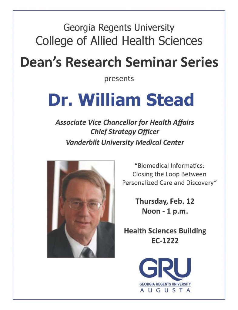 seminar series - Stead